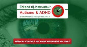 spectrum erkende rijschool adhd autisme